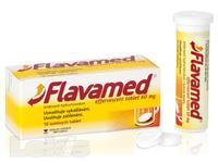 FLAVAMED EFFERVESCENT TABLET 60 MG 10X60MG Šumivé tablety