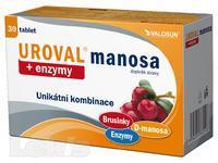 Uroval MANOSA + enzymy tbl.30