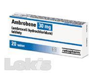 AMBROBENE TBL 20X30MG