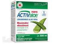 Barny`s Active Aloe vera Forte 500ml-dvojbaleni