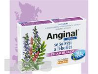 Anginal se šalvějí a lékořicí tbl 16