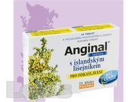 Anginal tablety s island.lišejníkem tbl.16