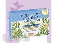 Mullerovy pastilky s kajeputovym olejem 24ks