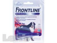 Frontline Spot On Dog XL 1x1 pipeta 4.02 ml VÝPRODEJ posl. 1ks exp. 08/19