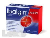 IBALGIN RAPID POR TBL FLM 12X400MG