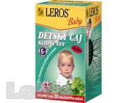 ČAJ DĚTSKÝ Leros Baby Klidné sny 20x1,5g -LER