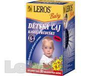 ČAJ DĚTSKÝ Leros Baby Kašel+průdušky 20x1,5g -LER