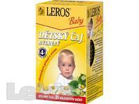 ČAJ DĚTSKÝ Leros Baby Bylinný 20x1,8g -LER