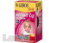 ČAJ DĚTSKÝ Leros Baby S ovocem 20x2g -LER