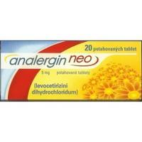 ANALERGIN NEO 5 MG POR TBL FLM 20X5MG