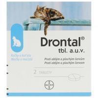 Drontal a.u.v.tbl 2 pro kočky
