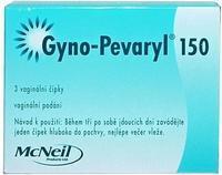 GYNO-PEVARYL 150 VAG SUP 3X150MG