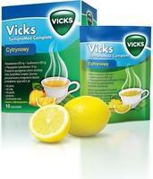 VICKS SYMPTOMED COMPLETE CITRÓN 10 Prášek pro roztok