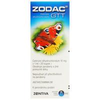 ZODAC GTT gtt 1x20ml/0.2g