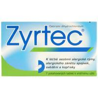 ZYRTEC TBL OBD 7X10MG