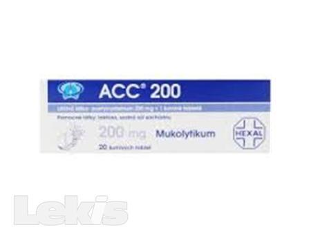 ACC 200 NEO POR TBL EFF 20X200MG