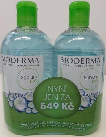 BIODERMA Sébium H2O 500ml 1+1