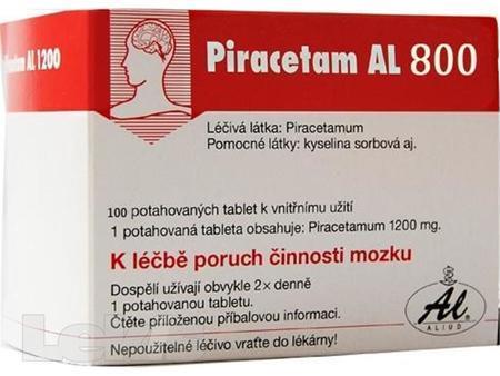 PIRACETAM AL 800 por tbl flm60x800mg
