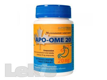 APO-OME 20 por cps etd 14x20mg