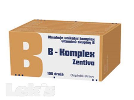 B-komplex Zentiva drg 100 Glass