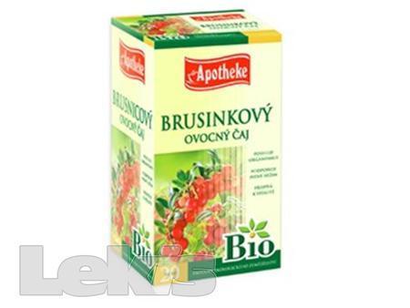 Čaj Apotheke BIO Brusinkový ovocný čaj 20x1.8g