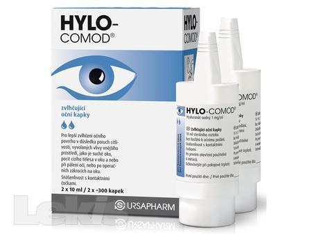 HYLO COMOD gtt. 2x10 ml Ursapharm