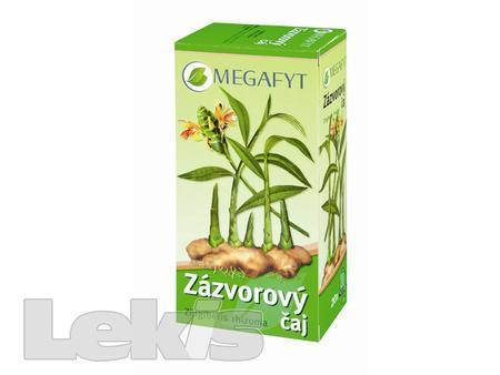 Čaj Zázvorový  Megafyt  n.s.20x1.5g
