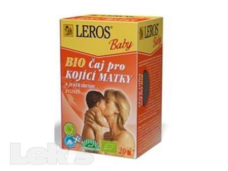 Čaj Leros  BIO Baby Pro kojící matky 20x2g