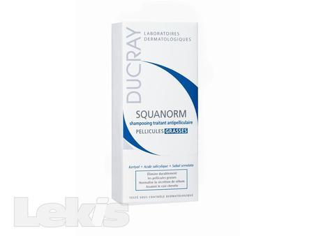 DUCRAY Squanorm gras shamp 200ml-šamp.mastné lupy