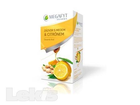Čaj NS Zázvor s medem a citrónem n.s.20x2g Meg