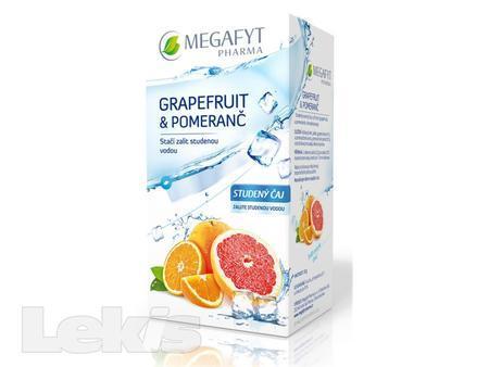 Megafyt Grapefruit a pomeranč studený čaj 20x2.5g