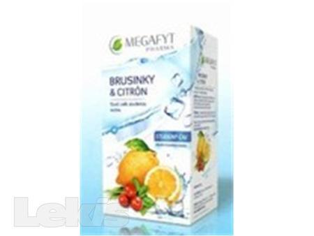 Megafyt Brusinky a citrón studený čaj 20x2.5g