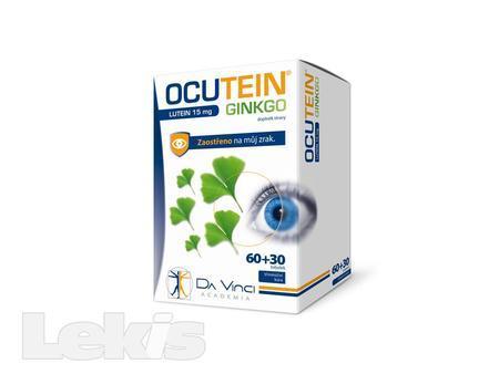 Ocutein Ginkgo Lutein 15 mg Da Vinci tob.60+30 tbl
