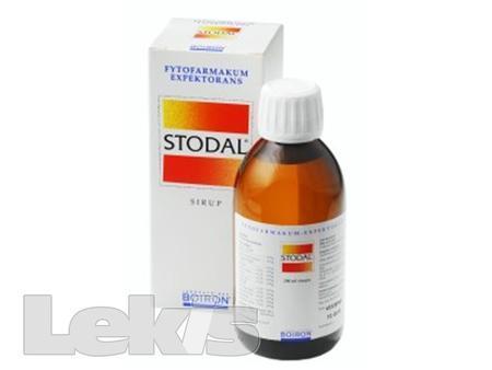 STODAL (HOMEOPAT.) SIR 200ML
