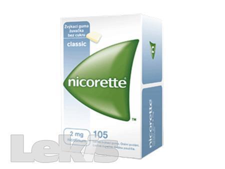 NICORETTE classic gum 105X4MG