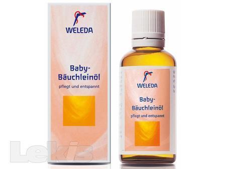 WELEDA Olej na masaz briska kojence 50ml