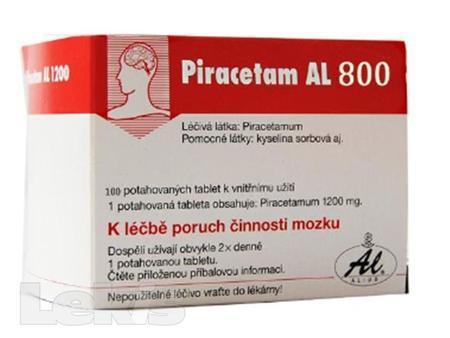 PIRACETAM AL 800 TBL OBD 100X800MG