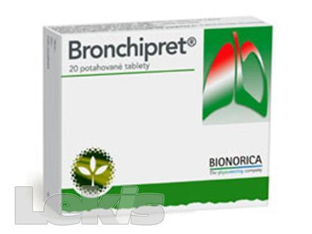 BRONCHIPRET POTAHOVANÉ TABLETY tbl obd 20