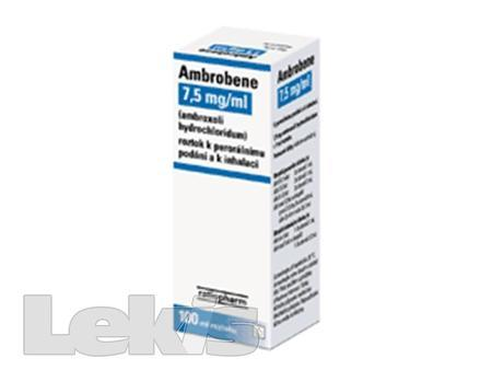 AMBROBENE SOL 100ML 7.5MG/ML
