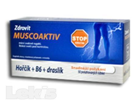 Zdrovit Muscoaktiv  50 tbl