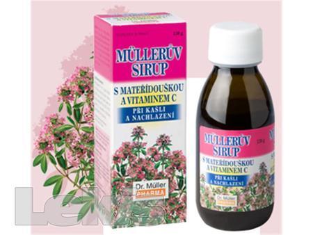 Mullerův sirup s mateřídouškou a vitaminem C 130g