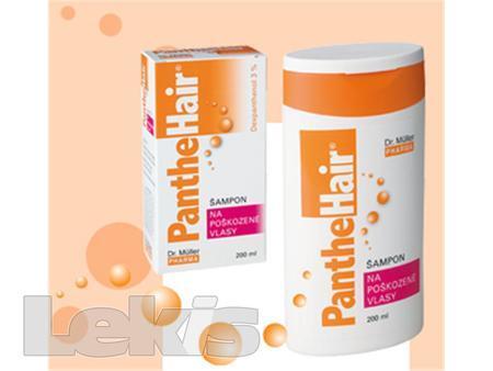 PantheHair šampon na poškozené vlasy 200ml -MPh
