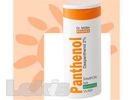 Panthenol sampon na mastne vlasy 250ml (Dr.Muller)