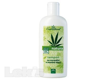Cannaderm Natura šampon na norm.a mast.vlasy 200ml