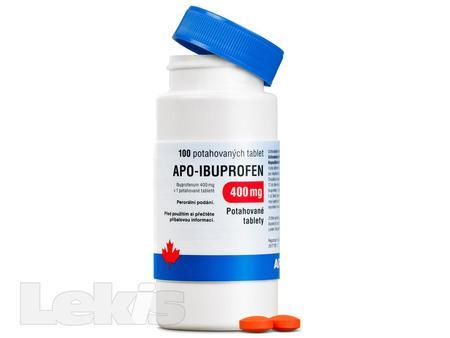 APO-IBUPROFEN 400 MG 100X400MG Potahované tablety