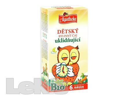 Čaj Apotheke Dětský uklidňující s heřmánk.20x1,5g