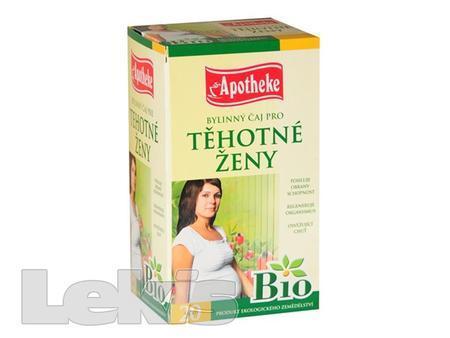 Čaj Apotheke BIO Těhotné ženy čaj 20 x 1,5g