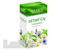 ČAJ Dětský bylinný čaj s heřmánkem 20x1.5g LEROS