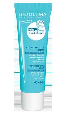 BIODERMA ABCDerm Cold Cream krém na zimu 40ml VÝPRODEJ 5ks, exp.06/21