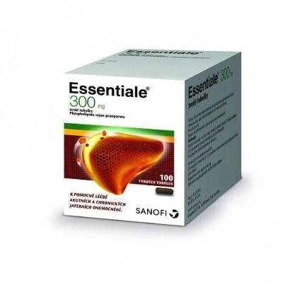 ESSENTIALE 300MG CPS DUR 100